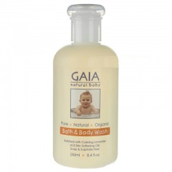 Sữa tắm cho bé Gaia Natural Baby Bath & Body Wash 250ml